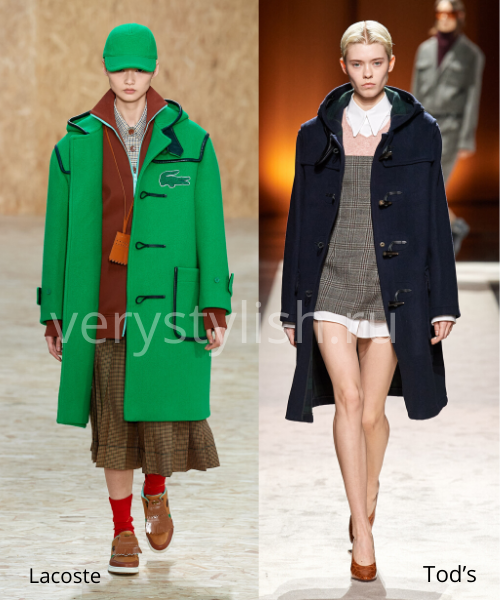 модные пальто осень-зима 2020/21 фото №32