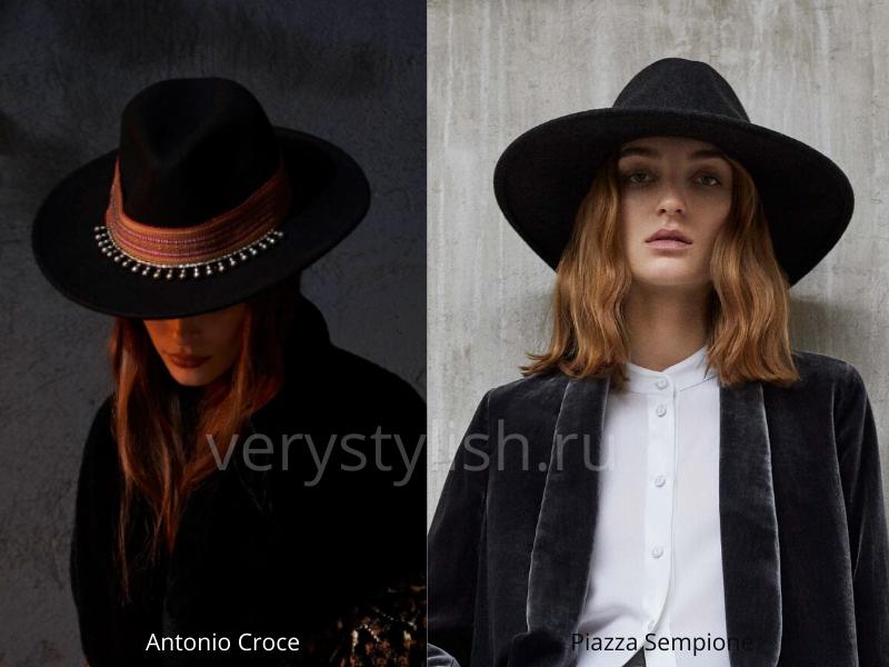 Модные головные уборы осень-зима 2020/21 фото №11