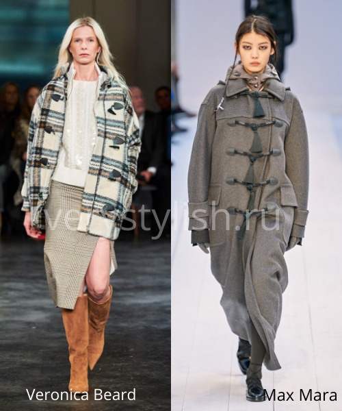 модные пальто осень-зима 2020/21 фото №41