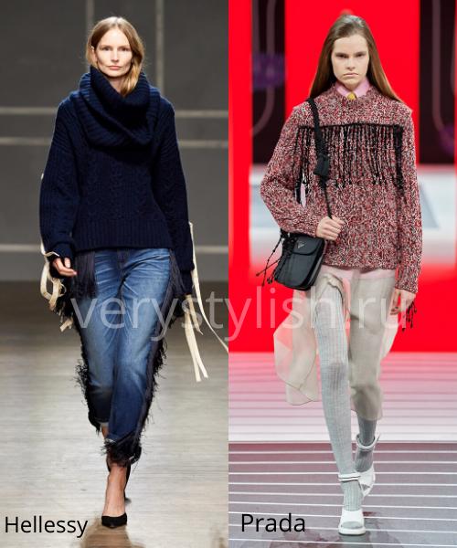 Модные свитеры осень-зима 2020/21 фото №51