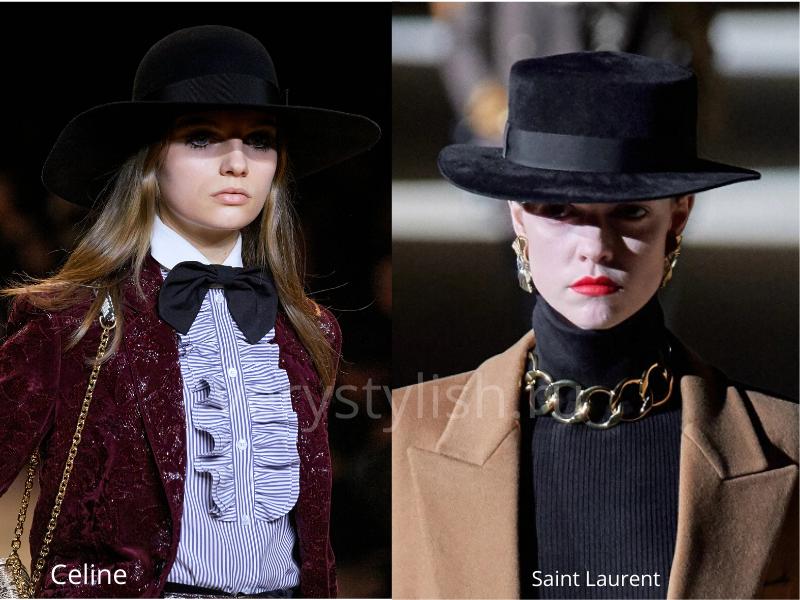 Модные головные уборы осень-зима 2020/21 фото №13