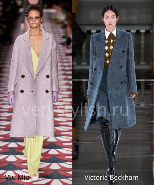 модные пальто осень-зима 2020/21 фото №5