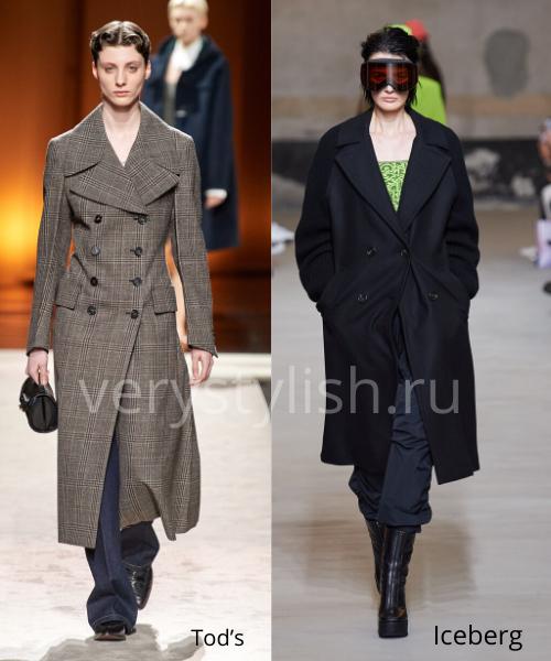 модные пальто осень-зима 2020/21 фото №6