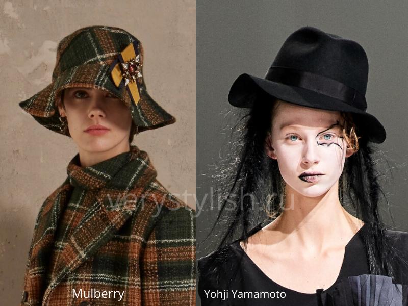 Модные головные уборы осень-зима 2020/21 фото №14