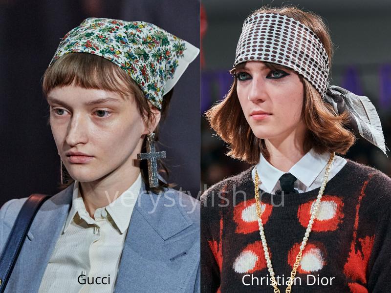 Модные головные уборы осень-зима 2020/21 фото №35
