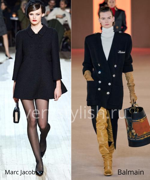 модные пальто осень-зима 2020/21 фото №8