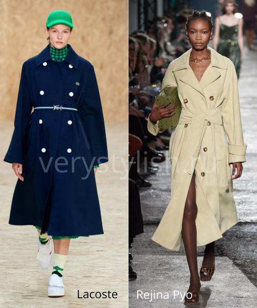 модные пальто осень-зима 2020/21 фото №9