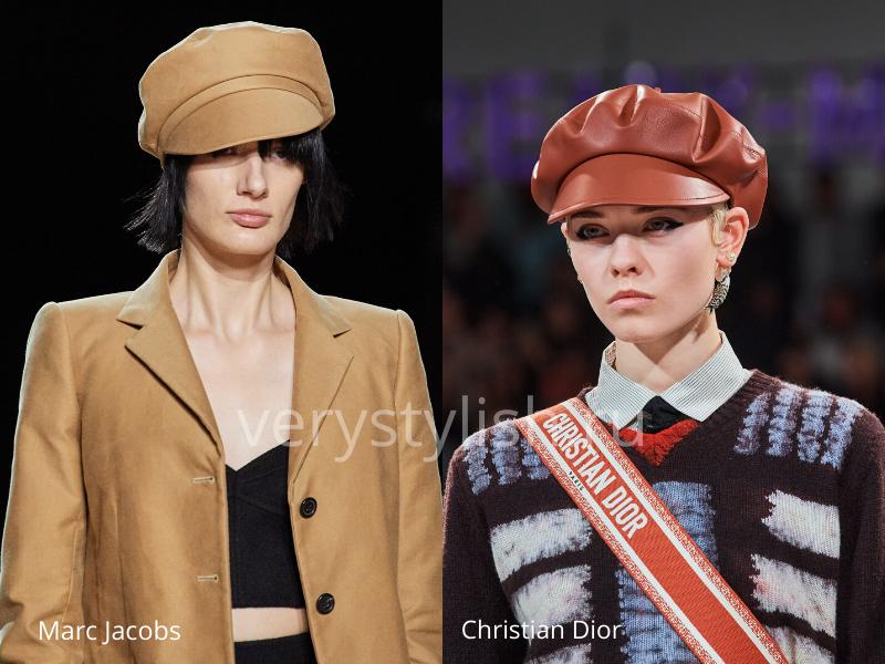 Модные головные уборы осень-зима 2020/21 фото №29
