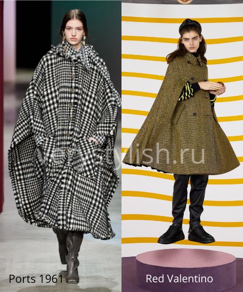 модные пальто осень-зима 2020/21 фото №48