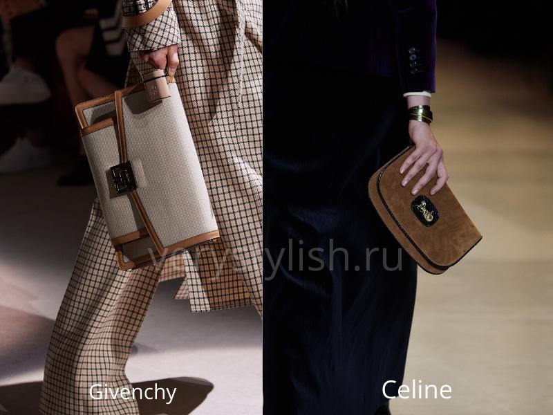 Модные сумки осень-зима 2020/21 фото №51