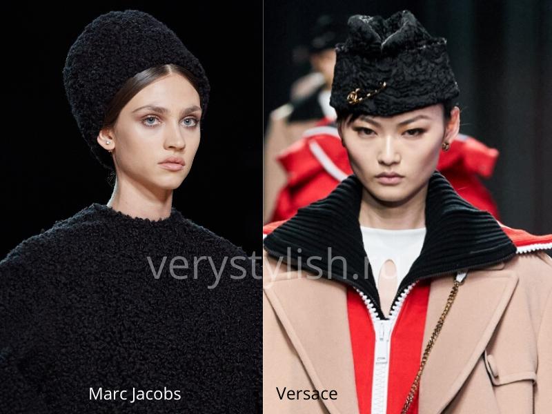 Модные головные уборы осень-зима 2020/21 фото №25