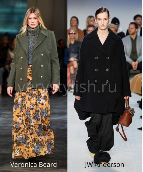 модные пальто осень-зима 2020/21 фото №33