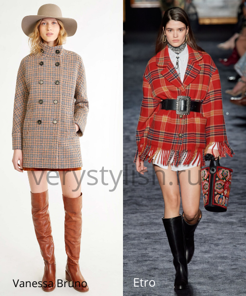 модные пальто осень-зима 2020/21 фото №19