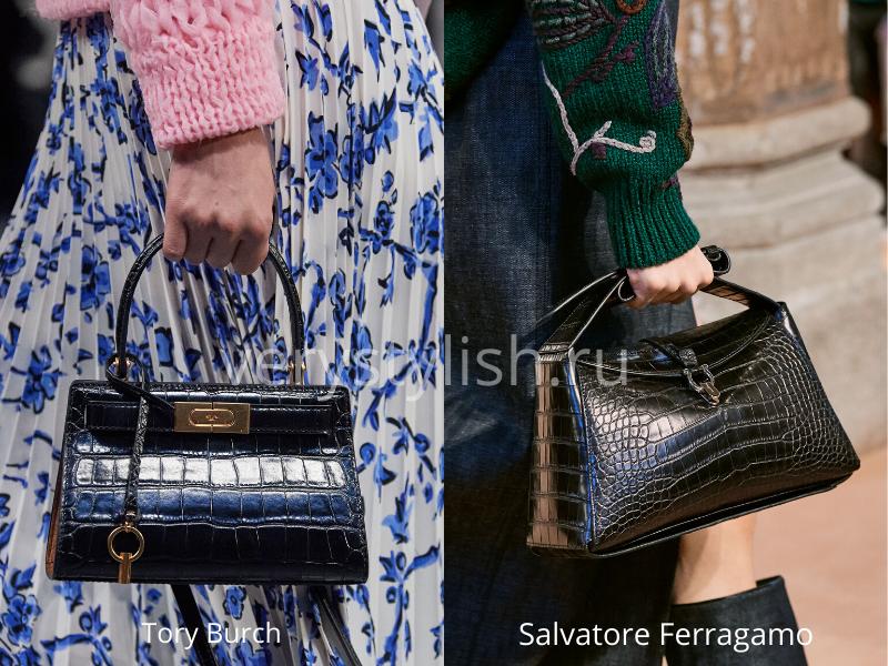 Модные сумки осень-зима 2020/21 фото №107