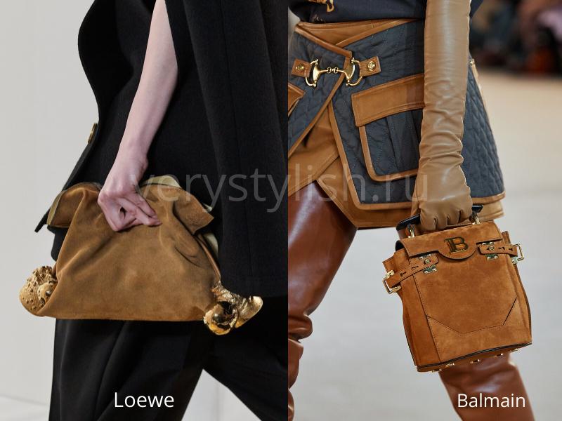 Модные сумки осень-зима 2020/21 фото №86