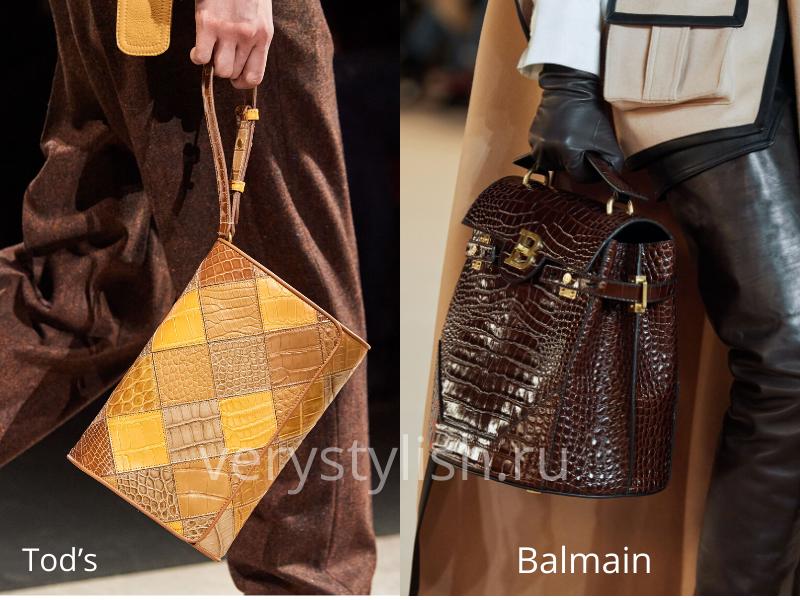 Модные сумки осень-зима 2020/21 фото №108