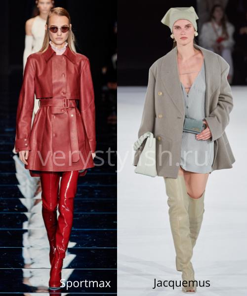 модные пальто осень-зима 2020/21 фото №20