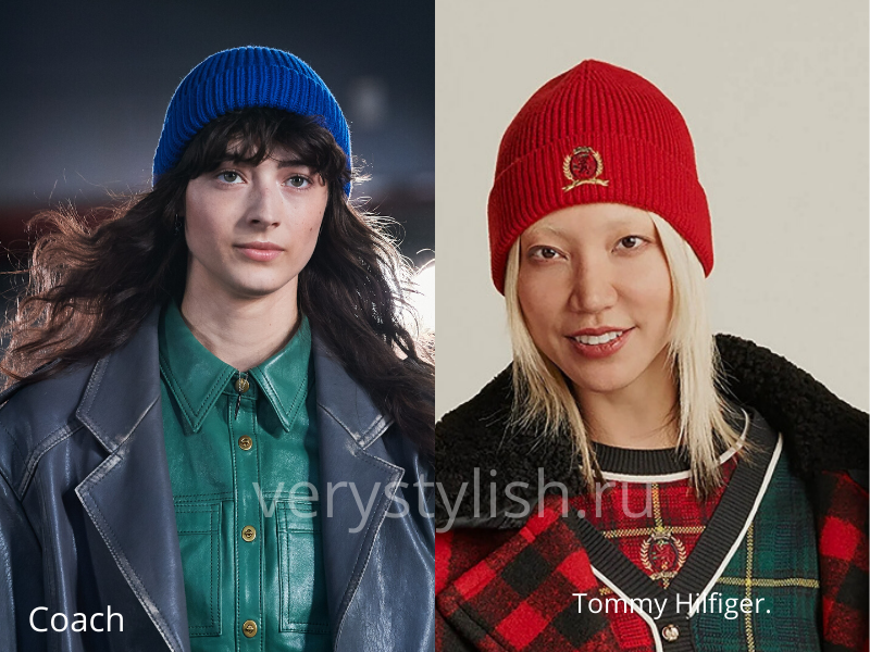 Модные головные уборы осень-зима 2020/21 фото №16