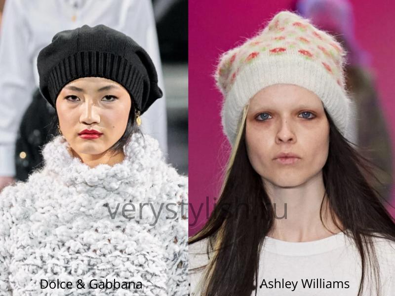 Модные головные уборы осень-зима 2020/21 фото №17