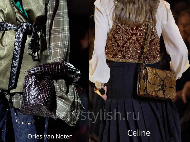 Модные сумки осень-зима 2020/21 фото №110