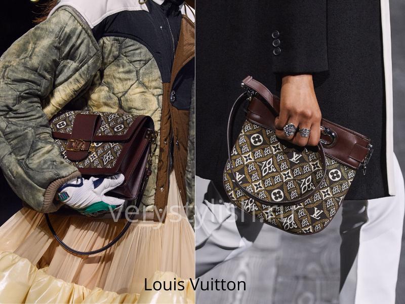 Сумки Louis Vuitton осень-зима 2020/21 фото 3
