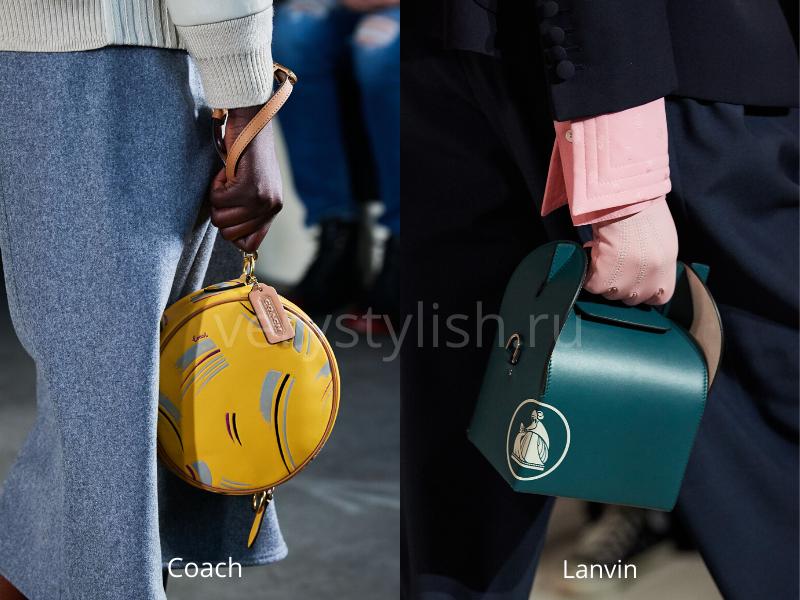 Модные сумки осень-зима 2020/21 фото №34