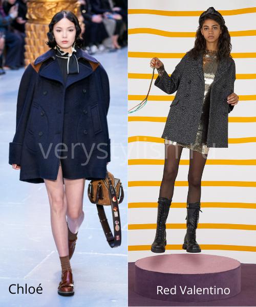 модные пальто осень-зима 2020/21 фото №23