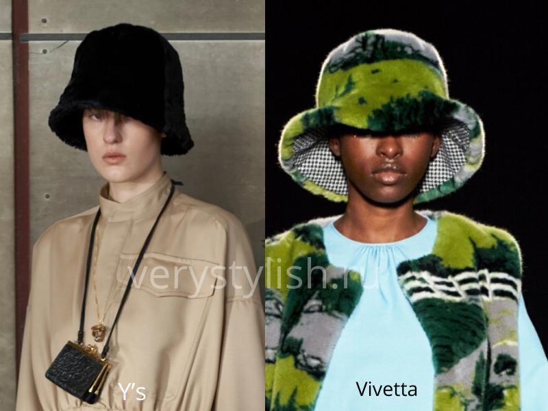 Модные головные уборы осень-зима 2020/21 фото №26