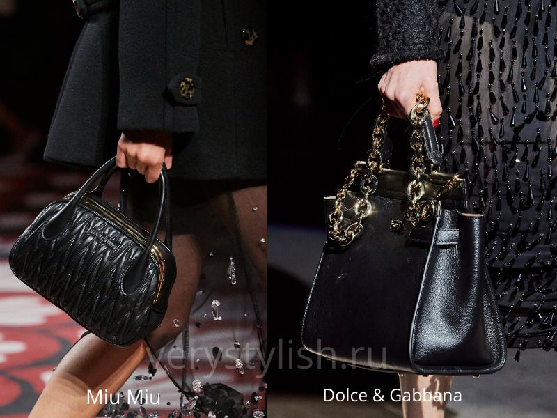 Модные сумки осень-зима 2020/21 фото №60