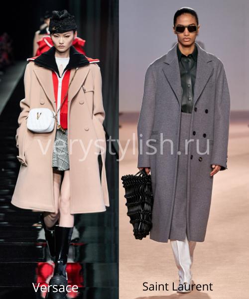 модные пальто осень-зима 2020/21 фото №24