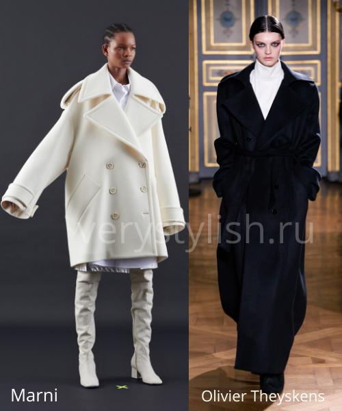 модные пальто осень-зима 2020/21 фото №25