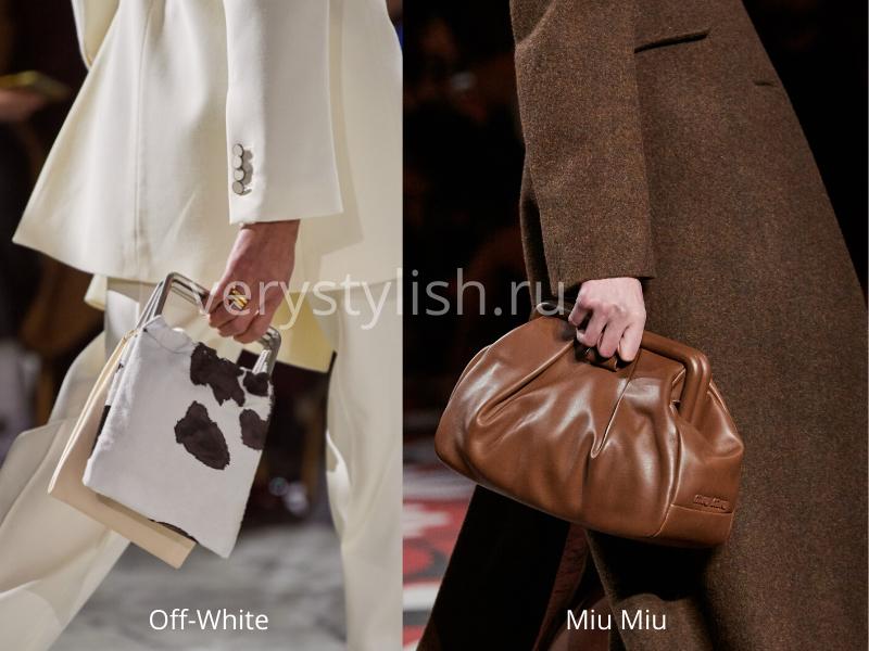 Модные сумки осень-зима 2020/21 фото №39