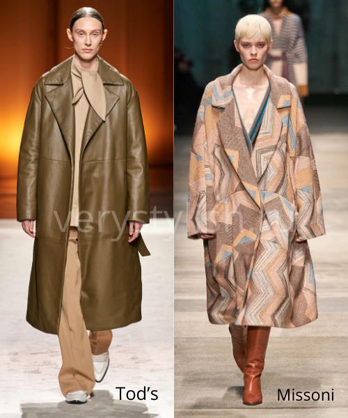 модные пальто осень-зима 2020/21 фото №26