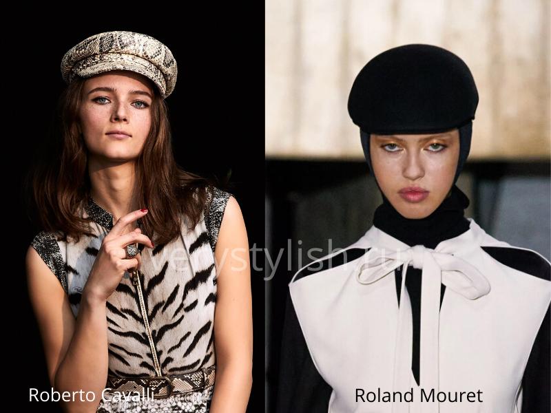 Модные головные уборы осень-зима 2020/21 фото №30