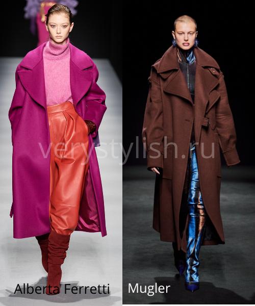 модные пальто осень-зима 2020/21 фото №27
