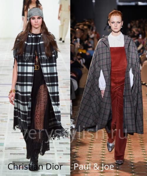 модные пальто осень-зима 2020/21 фото №53