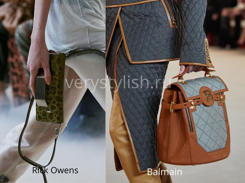 Модные сумки осень-зима 2020/21 фото №112