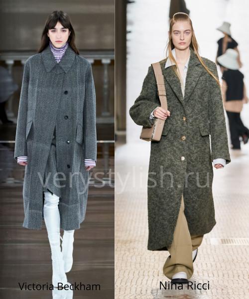 модные пальто осень-зима 2020/21 фото №1