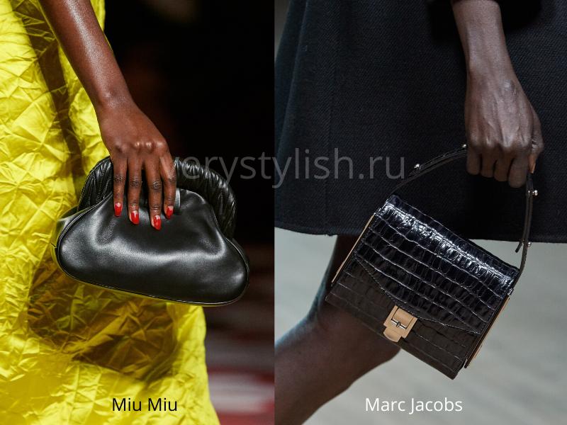 Модные сумки осень-зима 2020/21 фото №20