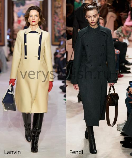 модные пальто осень-зима 2020/21 фото №34