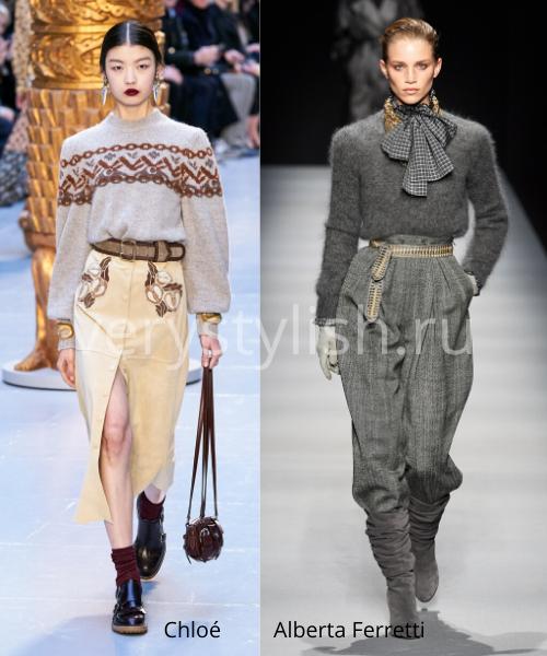 Модные свитеры осень-зима 2020/21 фото №45