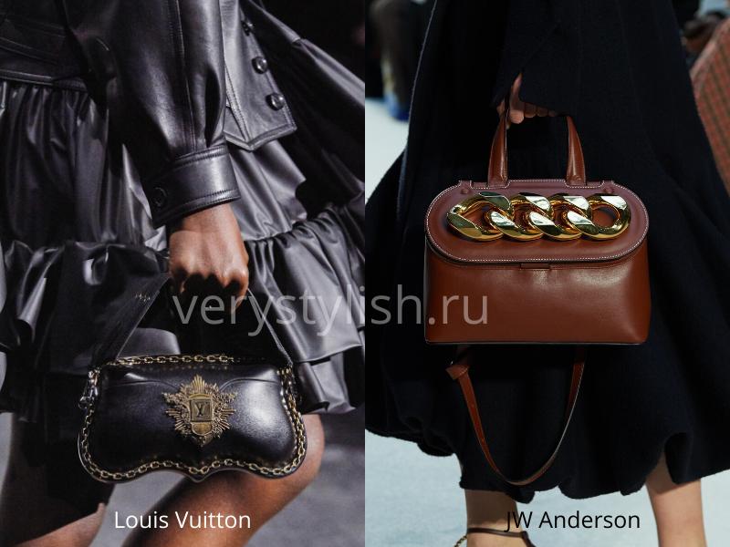 Модные сумки осень-зима 2020/21 фото №114