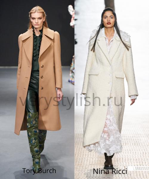 модные пальто осень-зима 2020/21 фото №2
