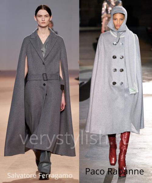 модные пальто осень-зима 2020/21 фото №55