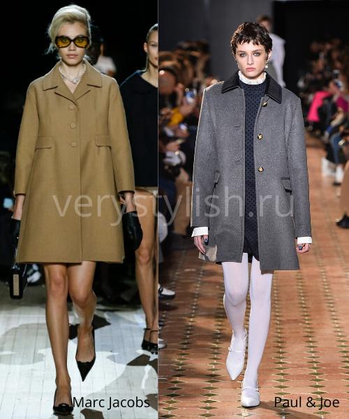 модные пальто осень-зима 2020/21 фото №3