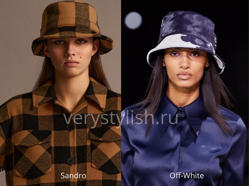 Модные головные уборы осень-зима 2020/21 фото №40