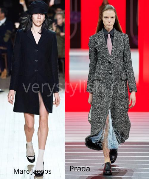модные пальто осень-зима 2020/21 фото №4