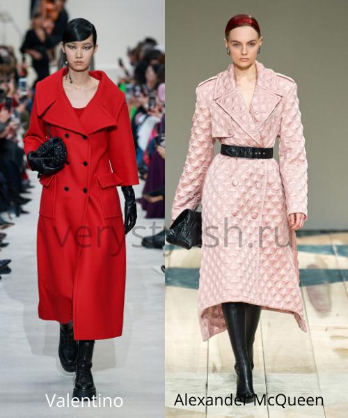 модные пальто осень-зима 2020/21 фото №42