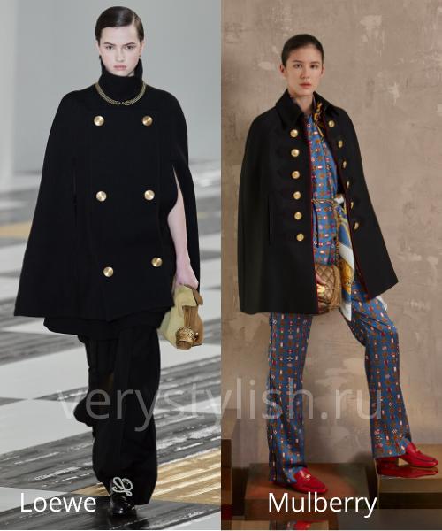 модные пальто осень-зима 2020/21 фото №58