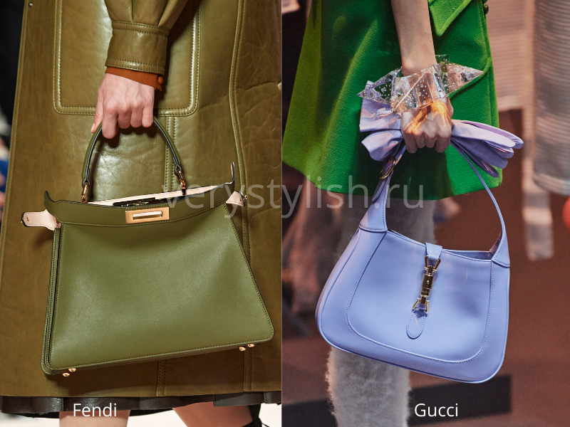 Модные сумки осень-зима 2020/21 фото №76